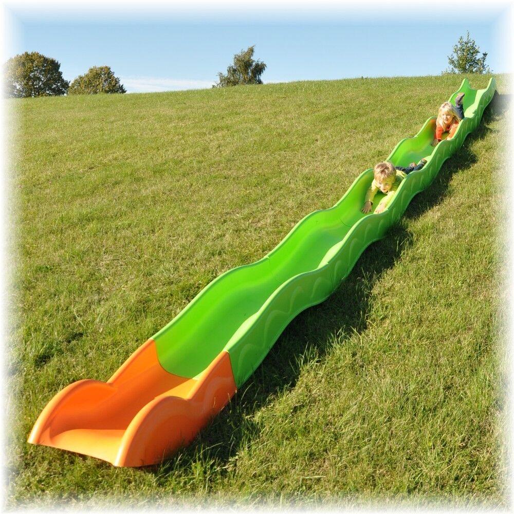 Hangrutsche Hangrutsche Hangrutsche Rutsche Wellenrutsche Garten Kinderrutsche versch Längen zur Auswahl df1514