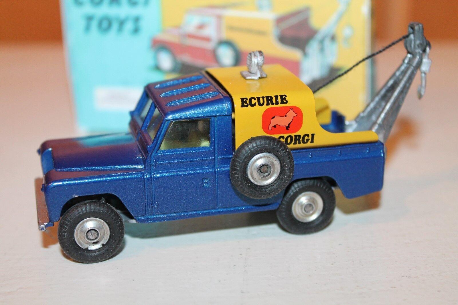 CORGI toys  Ecurie Land rover  code  3  1 43  prix de gros