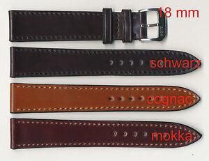 Angebot-ECHT-Shell-Cordovan-UHRENBAND-Pferdeleder-18-16-20-16-20-18-mm-flach