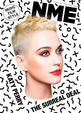 Witless KATY PERRY Photo Cover interview UK NME MAGAZINE June 2017
