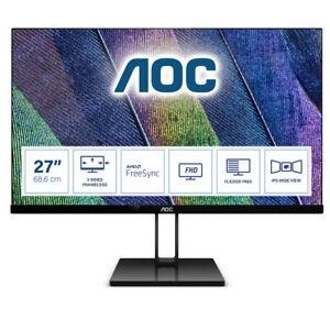 AOC MONITOR 27 16:9 IPS 1920X1080 250CD/M 50M:1 5MS HDMI DP