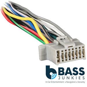 Super Panasonic Car Stereo Radio 16 Pin Iso Replacement Wiring Loom Wiring Cloud Usnesfoxcilixyz