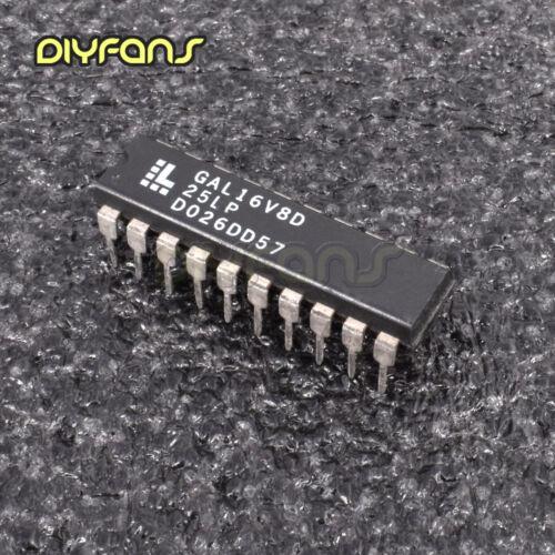 1PCS GAL16V8D-25LP DIP High Performance E2CMOS PLD Generic Array Logic