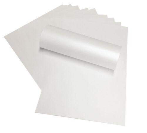 20 A4 Libro Blanco Peregrina Majestic pearlised//shimmer Ambos Lados 120sm