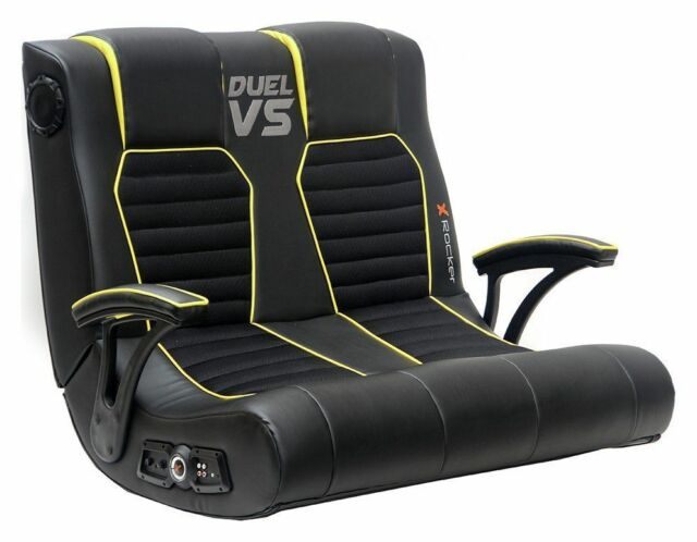 used X-Rocker Duel vs Double Gaming Chair - RKH21
