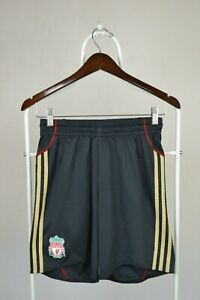 Liverpool-2009-2010-Away-Football-Shorts-Adidas-Size-S