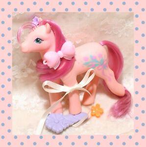 ❤️My Little Pony MLP G1 Vtg 1988 Sweetheart Sister Dainty Flower Brush Earring❤️