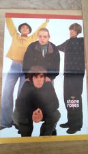 Stones Roses hands up Centerfold magazine POSTER  17x11 inches