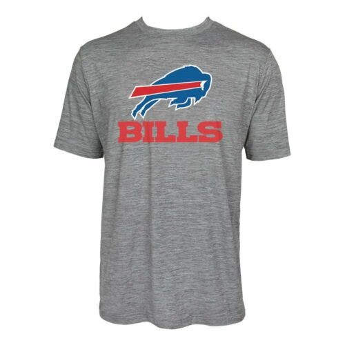 Zubaz NFL Men/'s Buffalo Bills Team Name and Logo Wordmark Tee