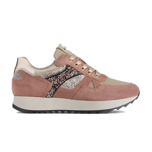 Scarpe sneakers Nero Giardini donna A908901D/614 cipria listino € 119,50