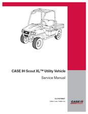 Case Ih Scout Xl Utility Gas Diesel Service Repair Manual Book Clc103700627