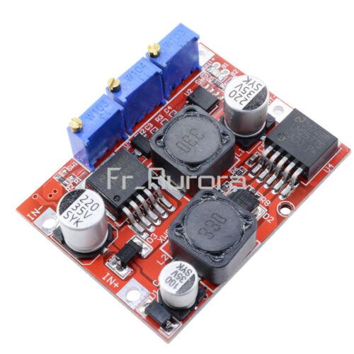 XL6009 LM2596 LM2596HV LM2596HVS Buck Step Up// Down Power Converter Voltmeter