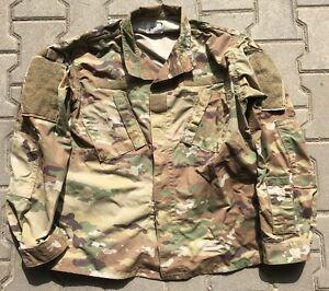 Us Army Ocp Acu Scorpion W2 Combat Uniforme Veste Shirt Sr/small Regular-afficher Le Titre D'origine