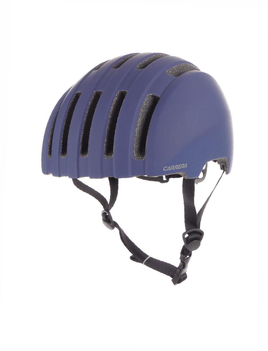 Carrera Bike Helmet Safety Helmet blue Matte Precinct Adjustable Light