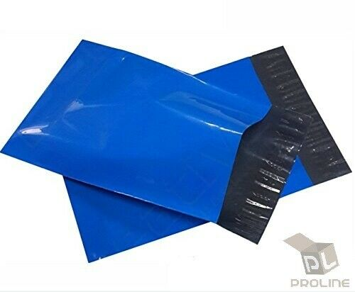 100 6x9 BLUE Poly Mailers Shipping Envelopes Couture Boutique Quality Bags