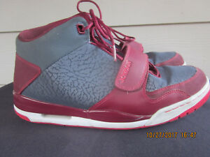 aacda7591c2959 Nike JORDAN FLIGHT CLUB 90s V IV III Sneakers Gray Fusion Red 11.5 ...