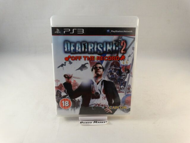 DEAD RISING 2 OFF THE RECORDS FRANK WEST - SONY PS3 PLAYSTATION 3 PAL - COMPLETO