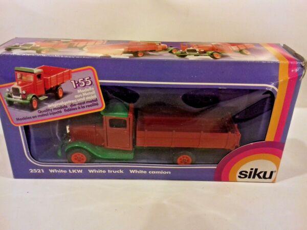 Adaptable Siku Allemagne No2521 Blanc Lkw Vintage Camion Lim. Ed. Lewington Comme Neuf Boxed. Le Prix Reste Stable