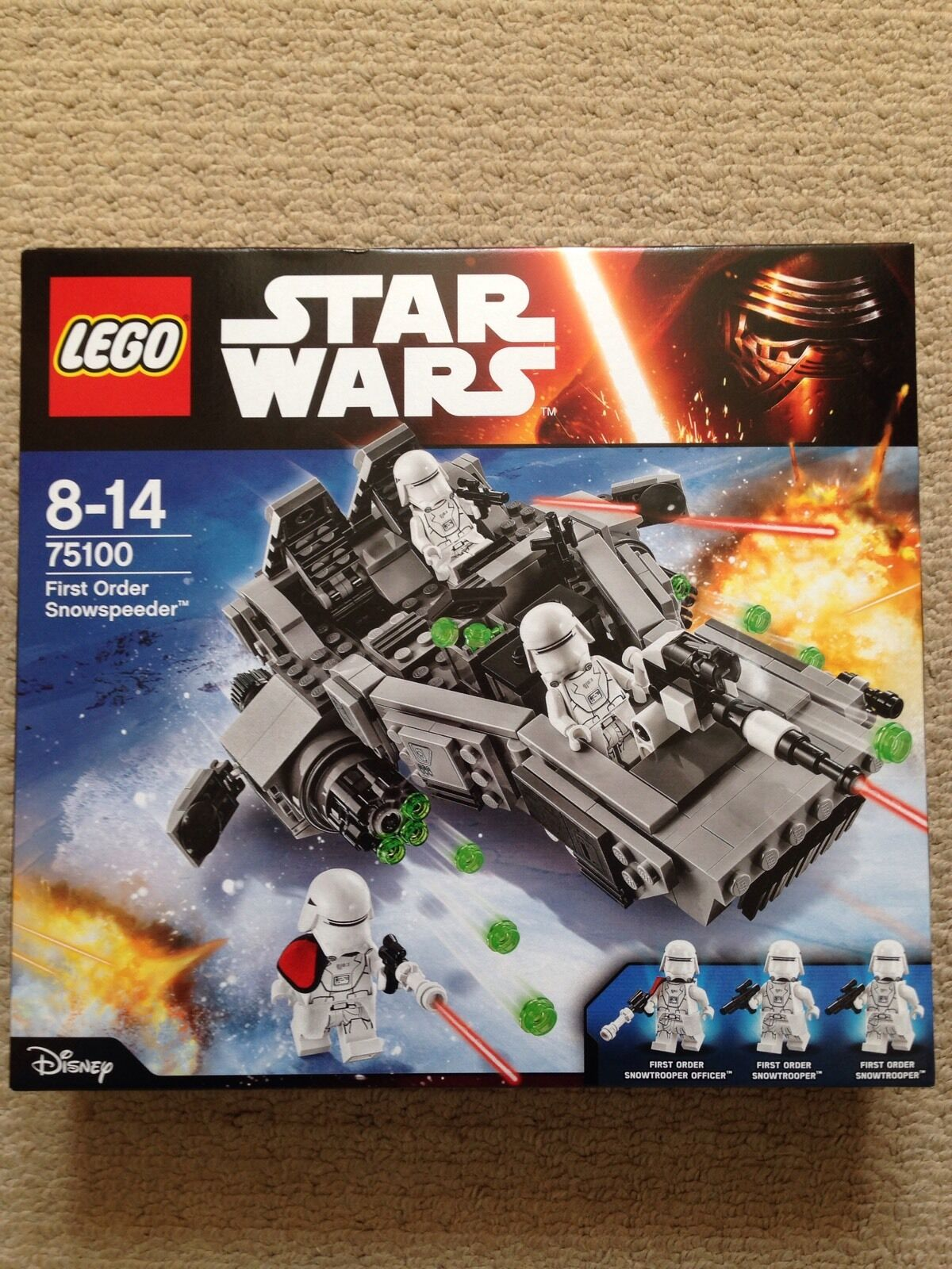 LEGO STAR WARS FIRST ORDER SNOWSPEEDER 75100 (NEW) Box Sets