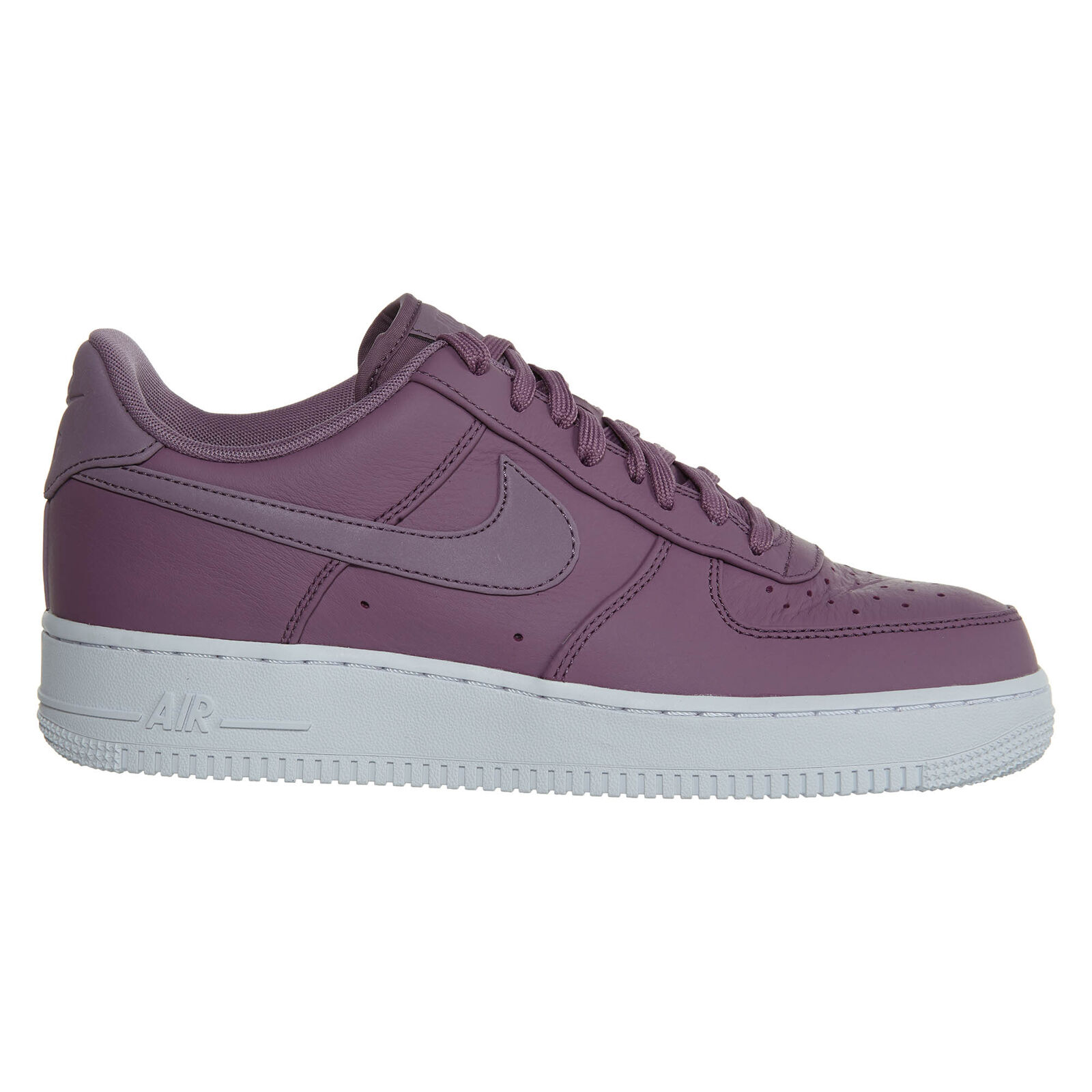 Nike Air Force 1 '07 Premium Mens 905345-501 Violet Dust Leather Shoes Size 9.5