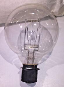 A-vintage-GEC-240v-500w-Class-T1-Projector-Bulb-Burn-Cap-Down-1930s-50s
