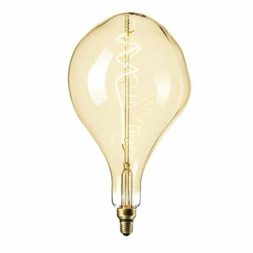 6 W Splash forme lampe en or 425902 Organic Filament DEL Dimmable ES E27