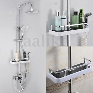 Bathroom-Pole-Shelf-Shower-Storage-Caddy-Rack-Organiser-Tray-Holder-Accessory