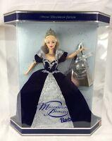 Stunning Special Edition 2000 Millennium Princess Barbie Doll Blue Dress