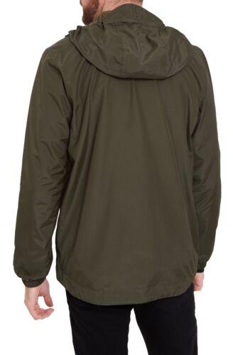 Lyle /& Scott Men/'s Zip Through Jacket Lightweight Casual Hooded Coat Sage Green