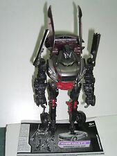 TRANSFORMERS SIDEWAYS MOVIE DELUXE CLASS FIGURE 100% COMPLETE + INSTRUCTIONS