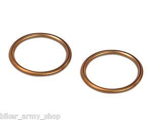 Simson-Kruemmerdichtung-Auspuffdichtung-28x34-Kupfer-Fuelldichtring-2-Stk-im-Set