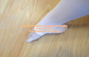 Ballet-Dance-Stirrup-Tights-Pink-with-plain-waist-and-gusset-Size-Child-to-Adult