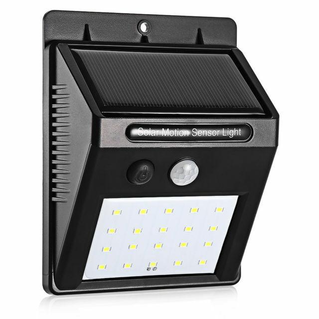 20 Led Solar Pir Motion Sensor Wall Light Outdoor Waterproof Garden Lamp Ardent For Sale Online Ebay