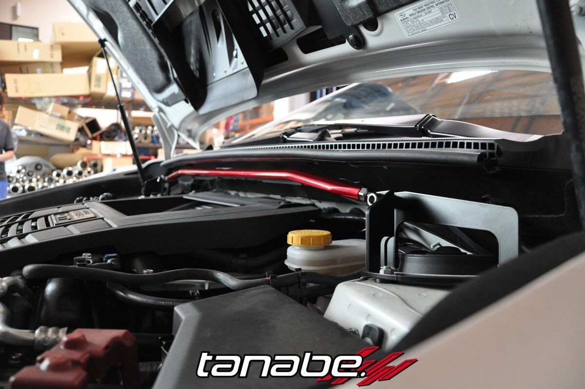 Sustec Front Strut Tower Braces for 2015 Subaru WRX// WRX STI #TTB188F Tanabe