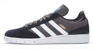 Adidas BUSENITZ Black White Gray Discounted (251) Skateboarding Men's Shoes