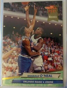 Ultra-Fleer-92-93-Shaquille-O-039-Neal-Shaq-Rookie-Card-328-ROOKIE-RC-Magic