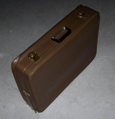 Beliebte Marke Vintage Reise-koffer 70-100 Jahre Alt >marke: Stratic Bon>leder>braun>true Retro QualitäT Und QuantitäT Gesichert