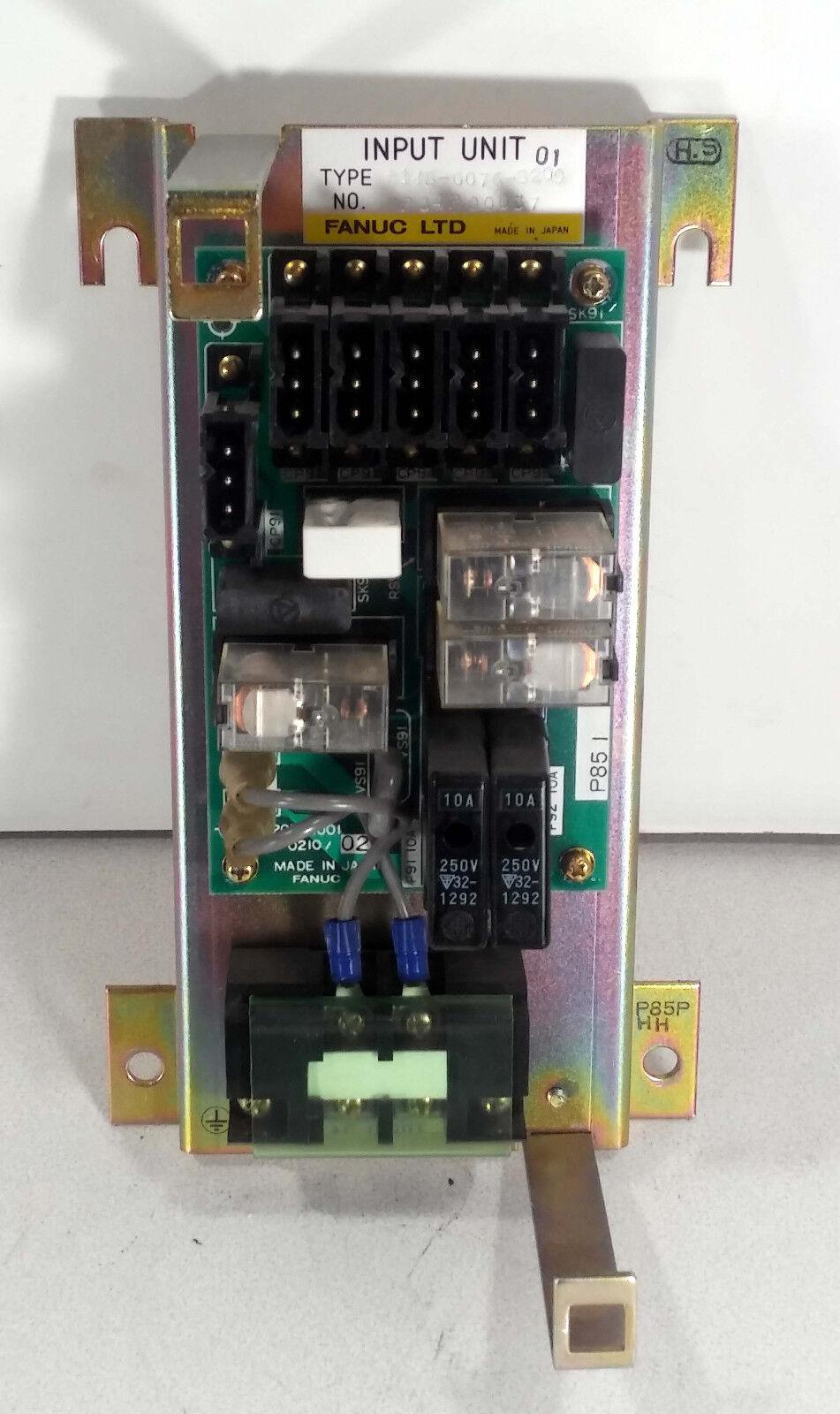 1 USED FANUC A14B-0076-B209 INPUT UNIT MAKE OFFER