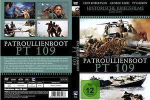 DVD PATROUILLENBOOT PT 109 - HISTORISCHE KRIEGSFILME EDITION *** NEU ***