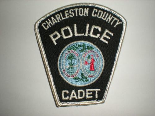 CHARLESTON COUNTY SOUTH CAROLINA POLICE CADET PATCH