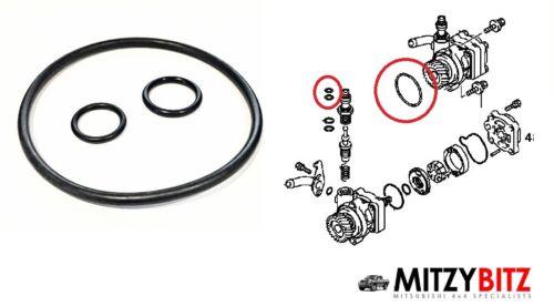 Servosterzo PAS Pompa Olio Ring Seal Kit per MITSUBISHI Pajero Shogun 2.8 4M40