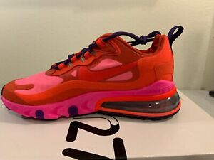 Womens Nike Air Max 270 React Red Crimson Pink At6174 600 Ebay