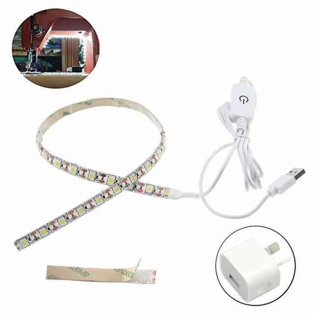 Flexible 60cm 5V Sewing Machine USB LED Light Strip Kit for Working Lighting