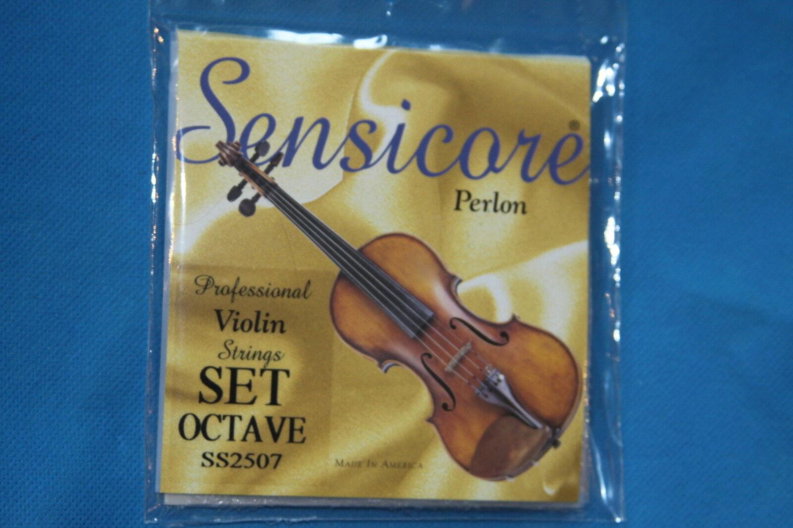 Super Sensitive SensiCore Perlon Cuerdas Cuerdas Cuerdas Violín 4 4, conjunto de octava, los fabricantes parte número SS2507 1af20c
