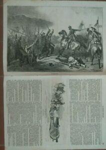 1859-RISORGIMENTO-039-LA-GUERRE-D-039-ITALIE-039-n-26-GRANDE-INCISIONE-GIUSEPPE-GARIBALDI