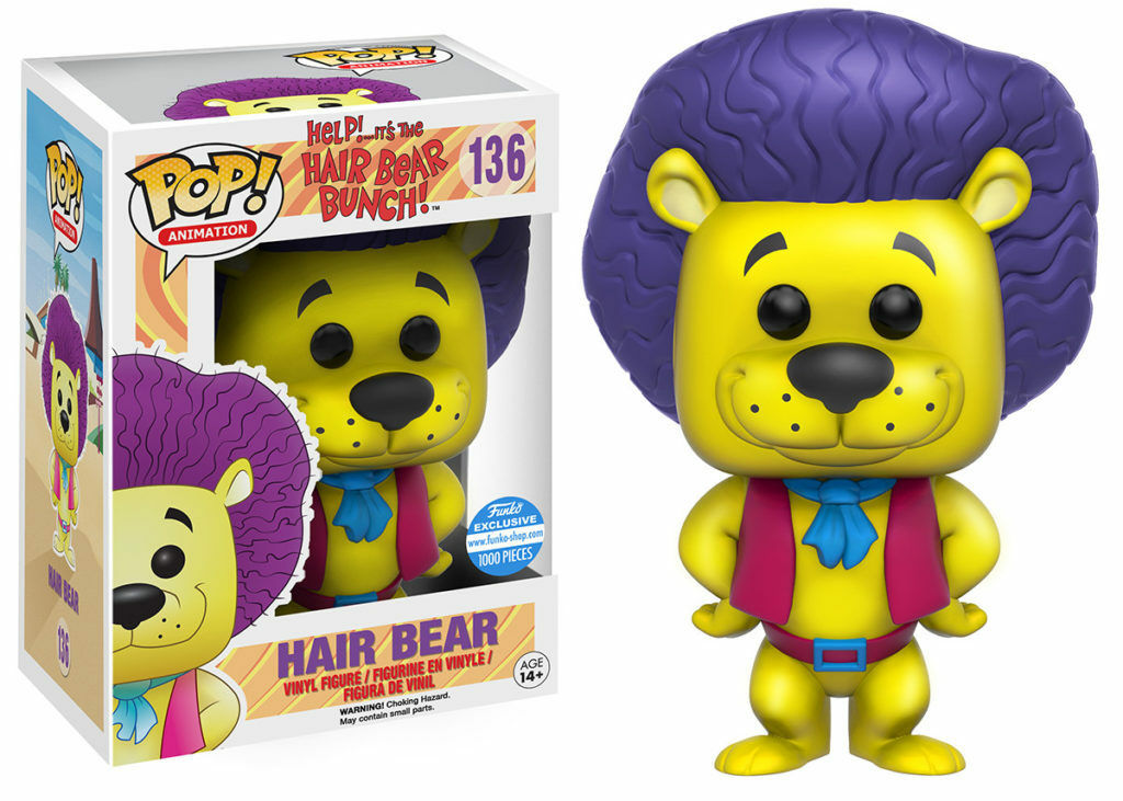 FONKO POP ANIMATION HAIR BEAR BUNCH HAIR BEAR (gul) FSE, FAST POST