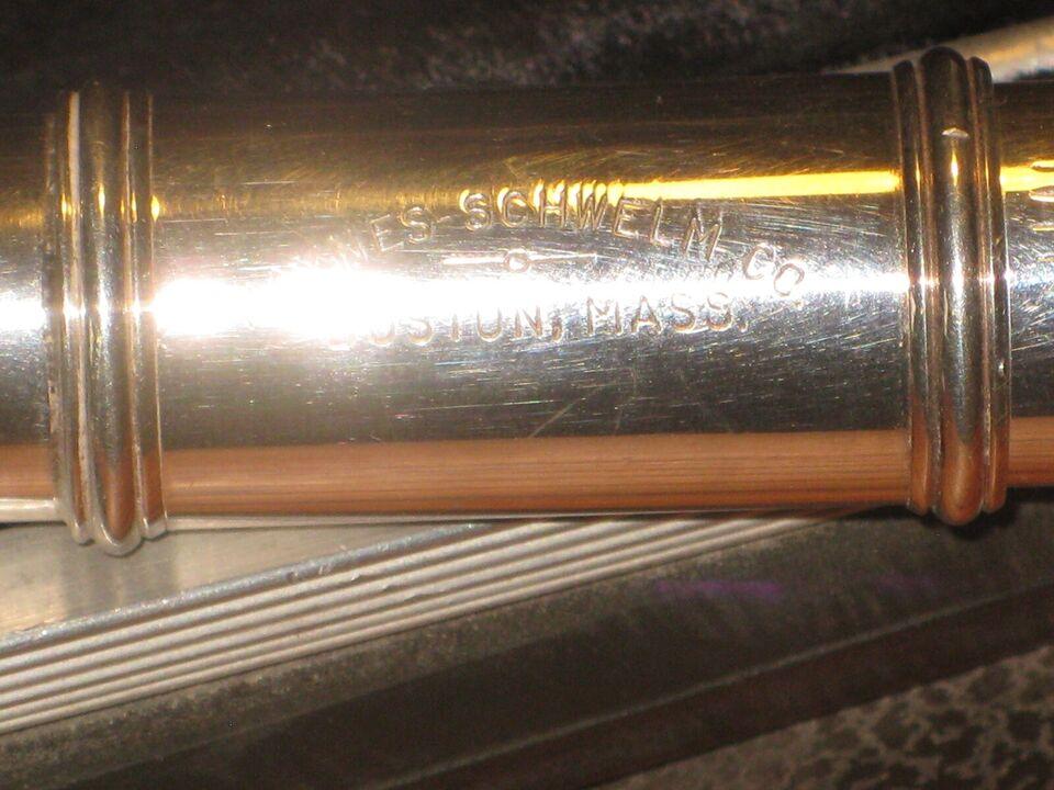 Tværfløjte, HAYNES - SCHWELM Co 360891