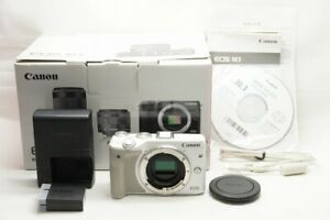 Canon-EOS-M3-24-2MP-Mirrorless-Digital-Camera-White-Body-Only-with-Box-210121h