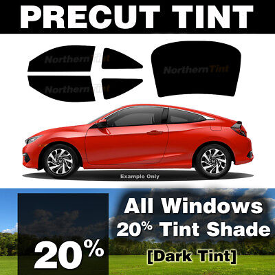 Rtint Window Tint Kit for Honda Accord 2008-2012 20/% - Windshield Strip Sedan