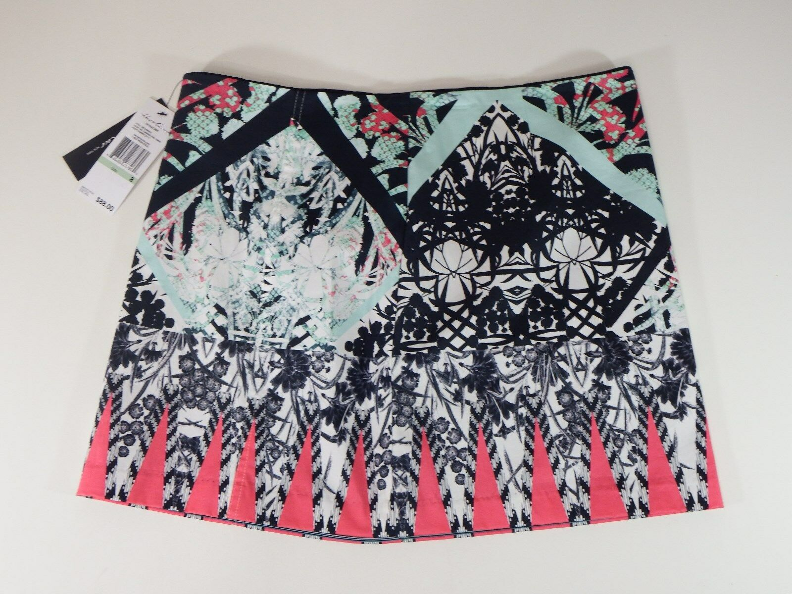 Women skirts kenneth cole the juliet skirt flamingo pink print
